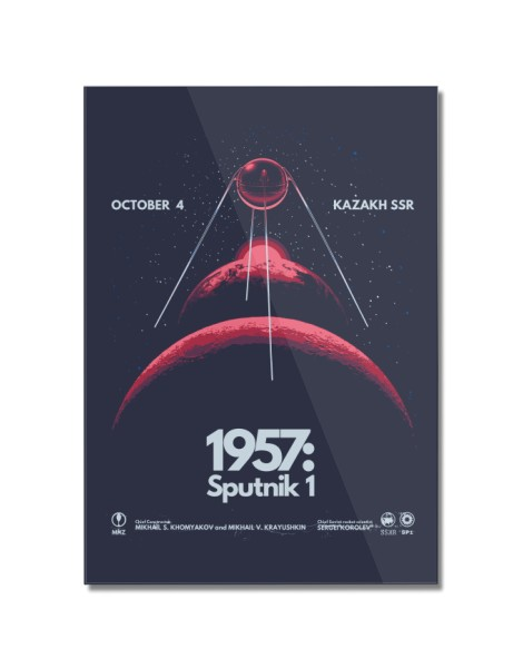 1957: Sputnik 1 Hero Shot