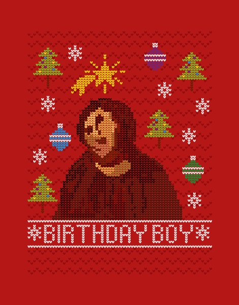 Ugly Jesus Sweater Hero Shot