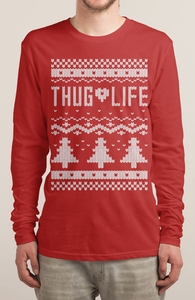 Thug Life Christmas Sweater Hero Shot