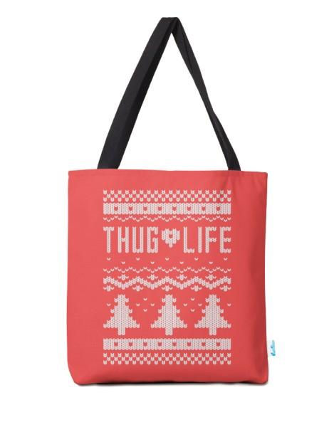Thug Life Christmas Sweater Hero Shot