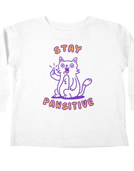 Stay pawsitive Hero Shot