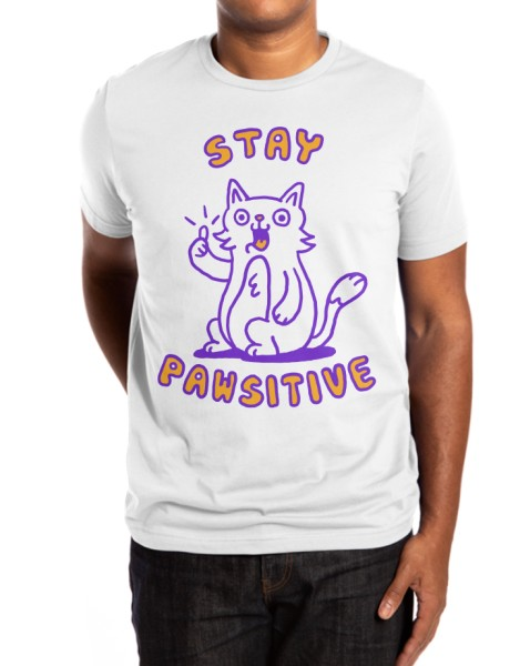 Stay pawsitive Hero Shot