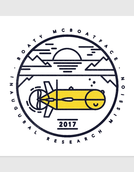 Boaty McBoatface Launch Hero Shot