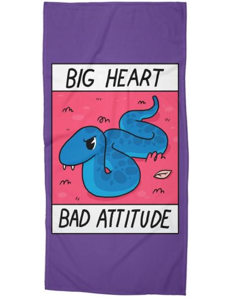 Big Heart/Bad Attitude Hero Shot