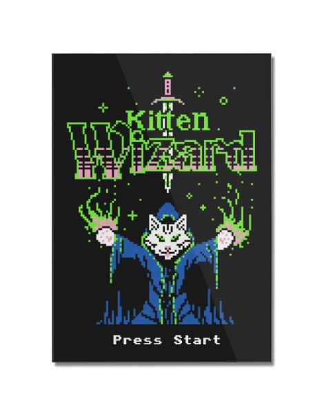 Kitten Wizard Hero Shot
