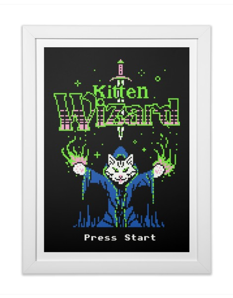 Kitten Wizard Hero Shot