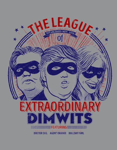 The Extraordinary League of Dimwits Hero Shot