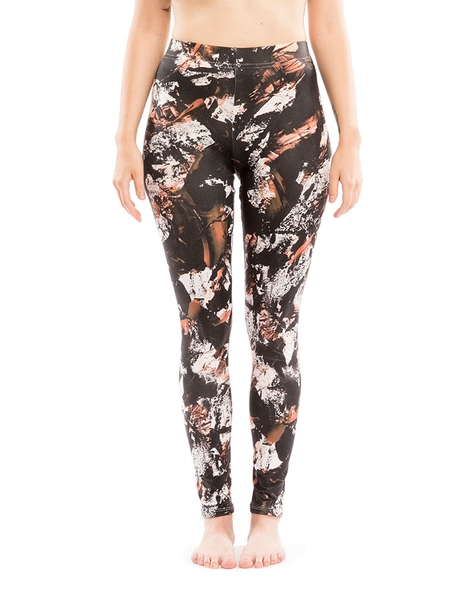 graffiti leggings -black!! Hero Shot