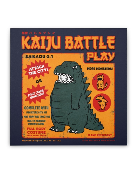 Kaiju Battle Play Hero Shot