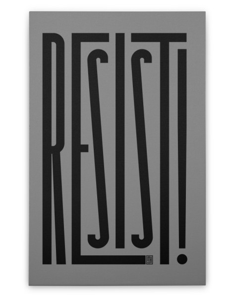 RESIST! Hero Shot