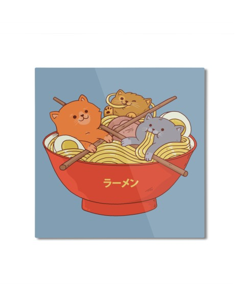Ramen and cats  Hero Shot