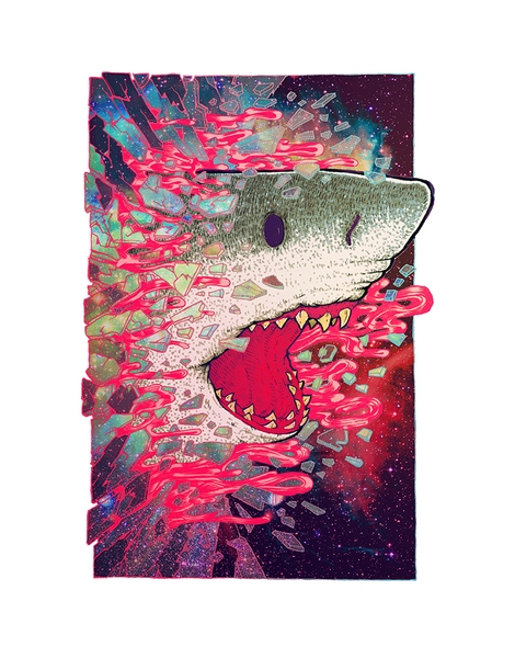 SHARK FROM OUTER SPACE Hero Shot