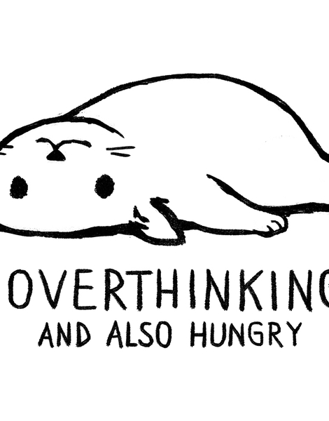 Overthinking and also Hungry Hero Shot