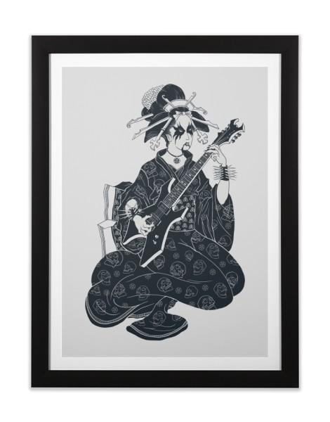Black Metal Geisha Hero Shot
