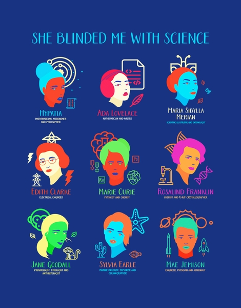 Product title she blinded me with science hero shot