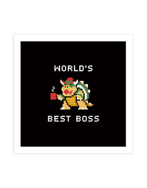 World's Best Boss Hero Shot