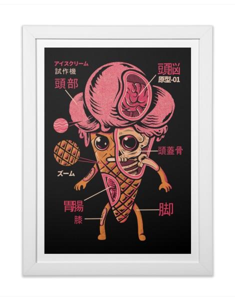 Ice Cream Kaiju Hero Shot