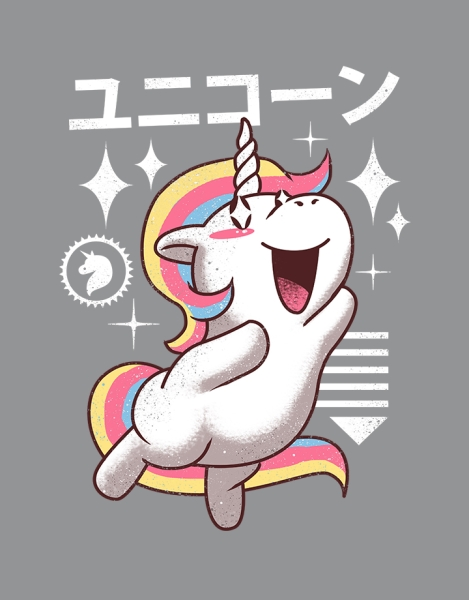 Kawaii Unicorn Hero Shot