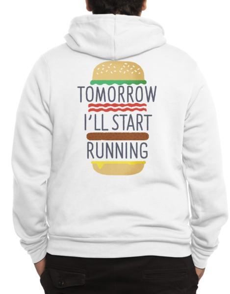 Tomorrow I'll Start Running Hero Shot