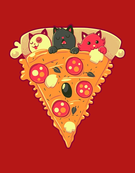 Pizza Cat Hero Shot