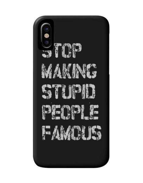 Stop Making Stupid People Famous Hero Shot