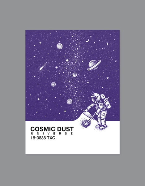 Cosmic Dust Hero Shot