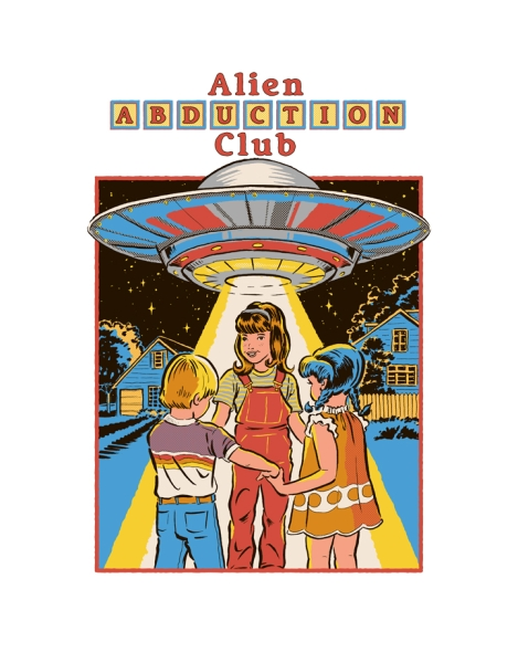 Alien Abduction Club Hero Shot