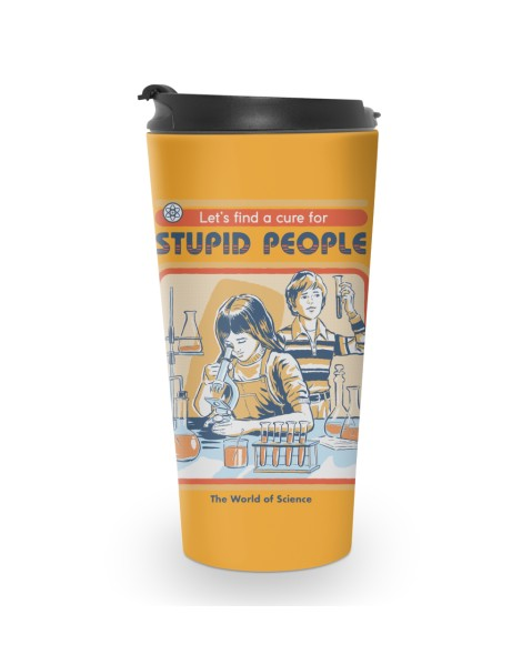A Cure for Stupid People Hero Shot