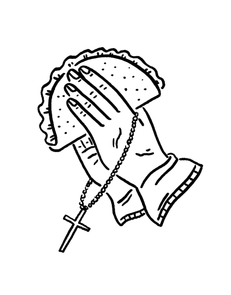 Tacos Al Pastor Hero Shot