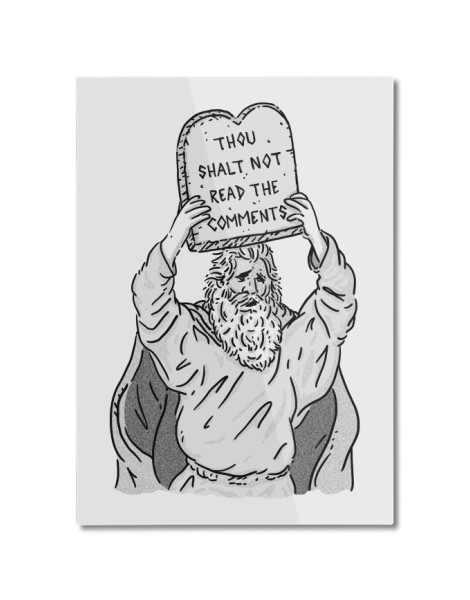 The first Commandment of the Internet Hero Shot