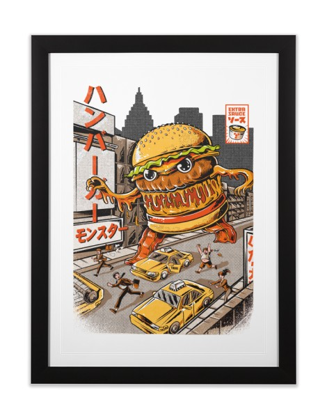 BurgerZilla Hero Shot