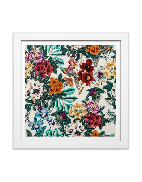 Floral and exotic birds Hero Shot