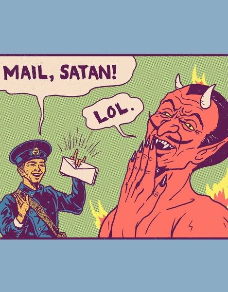 Mail, Satan! Hero Shot