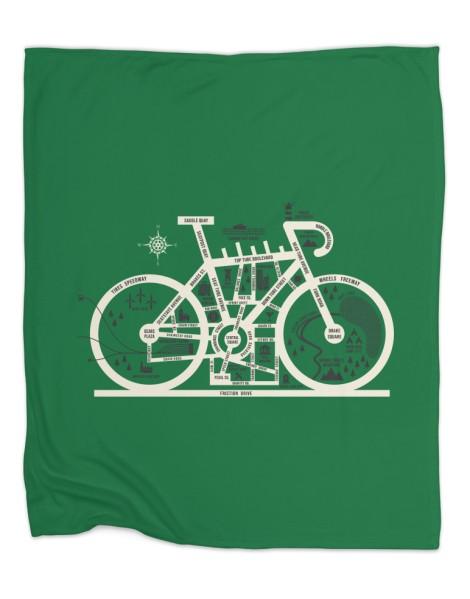 Bike City Map Hero Shot