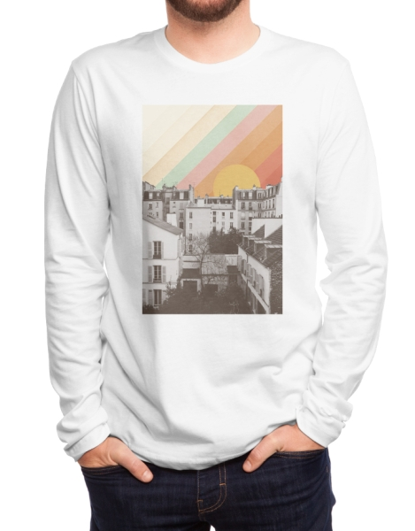 Rainbow Sky Above Paris Hero Shot