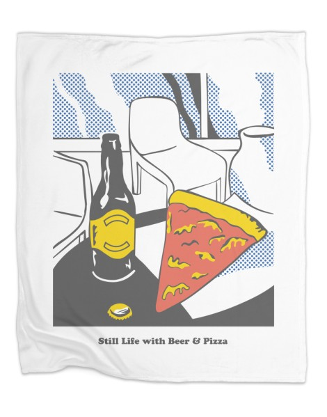 Beer & Pizza Hero Shot