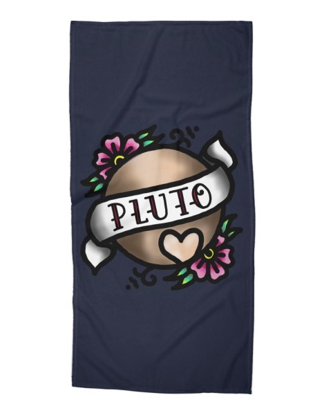 Pluto, I Shall Always Love You. Hero Shot