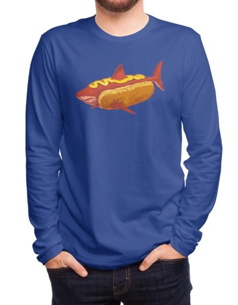 SharkDog with Mustard Hero Shot