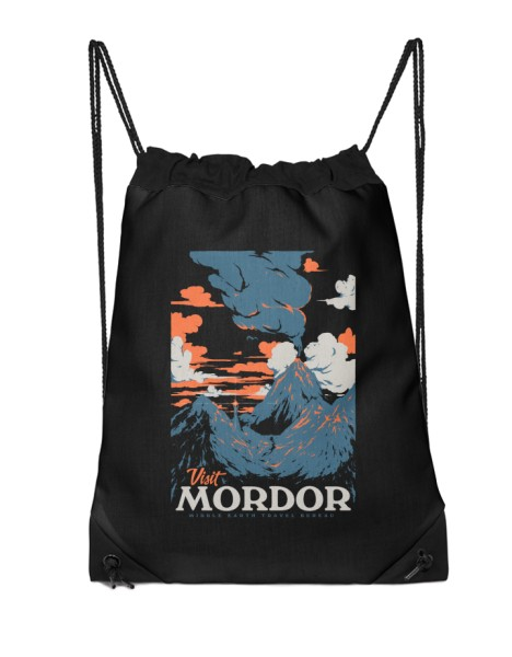 Visit Mordor (Black Variant) Hero Shot