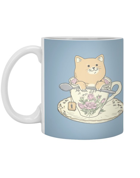 Tea cat time Hero Shot