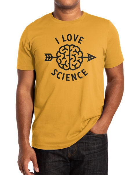 I love science Hero Shot