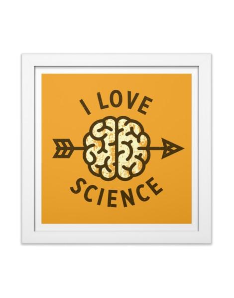 I love science Hero Shot