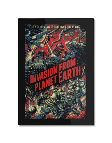 Invasion from planet Earth Hero Shot