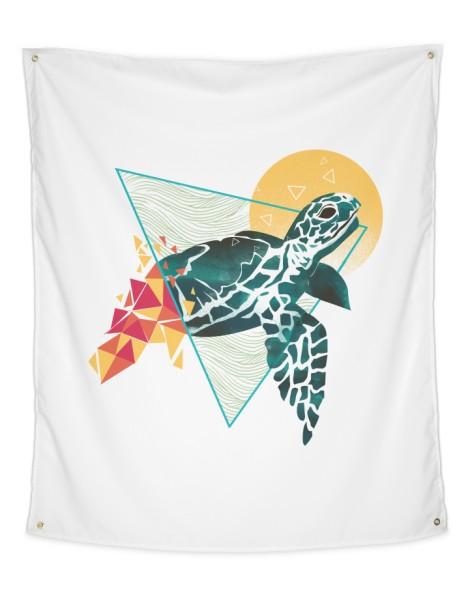 Geometric Turtle Hero Shot