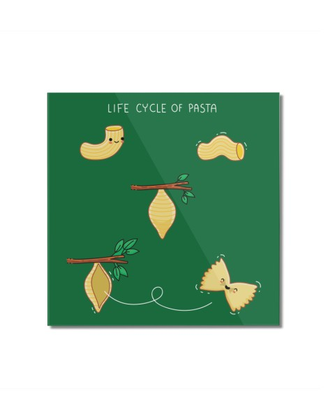Life cycle of pasta Hero Shot