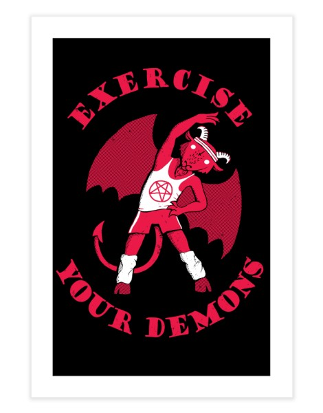 Exercise Your Demons Hero Shot