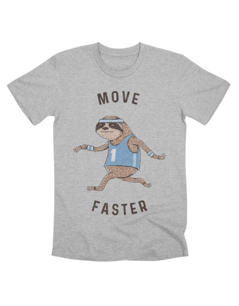 Move Faster Hero Shot