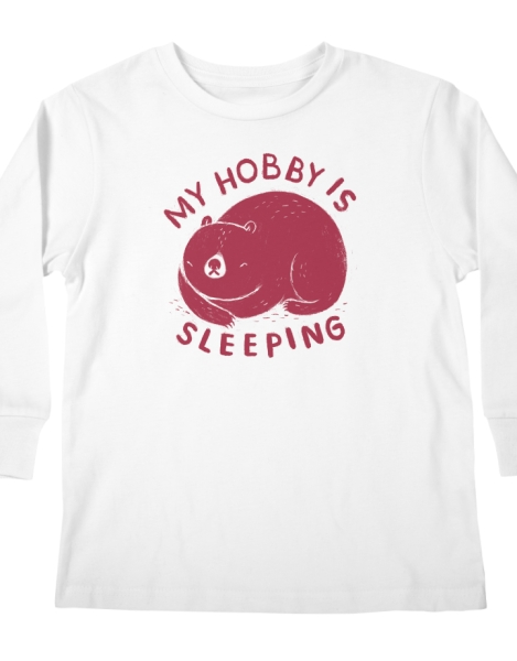 my hobby is sleeping Hero Shot