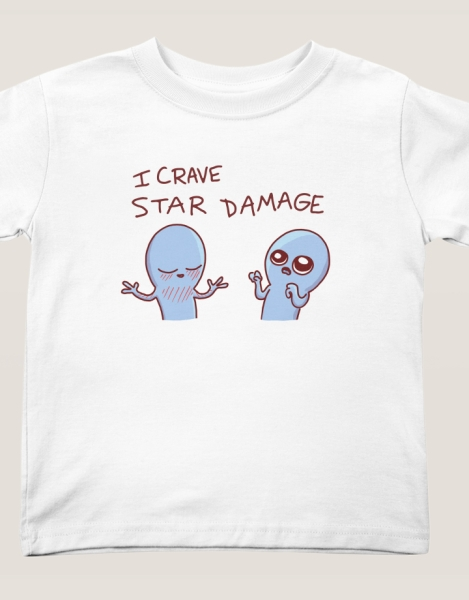 Strange Planet: I Crave Star Damage Hero Shot