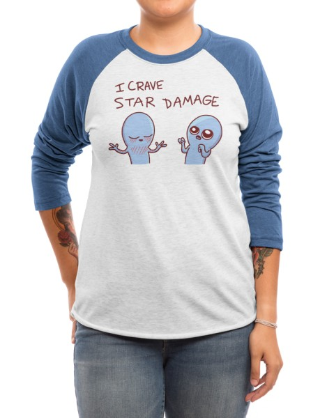 Strange Planet: I Crave Star Damage Hero Shot